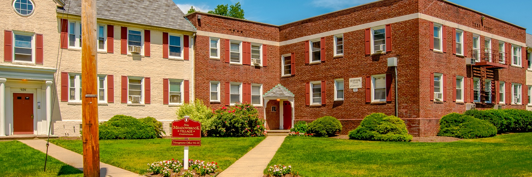 New Meadowbrook Village Apartments For Rent in Plainfield, NJ Building View