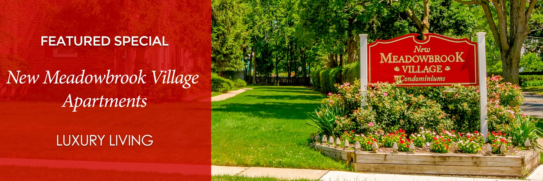 New Meadowbrook Village Apartments For Rent in Plainfield, NJ Specials